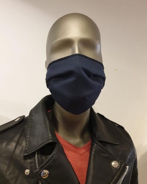 Masque bleu foncé - Covid19