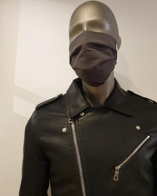 Masque gris foncé - Covid19