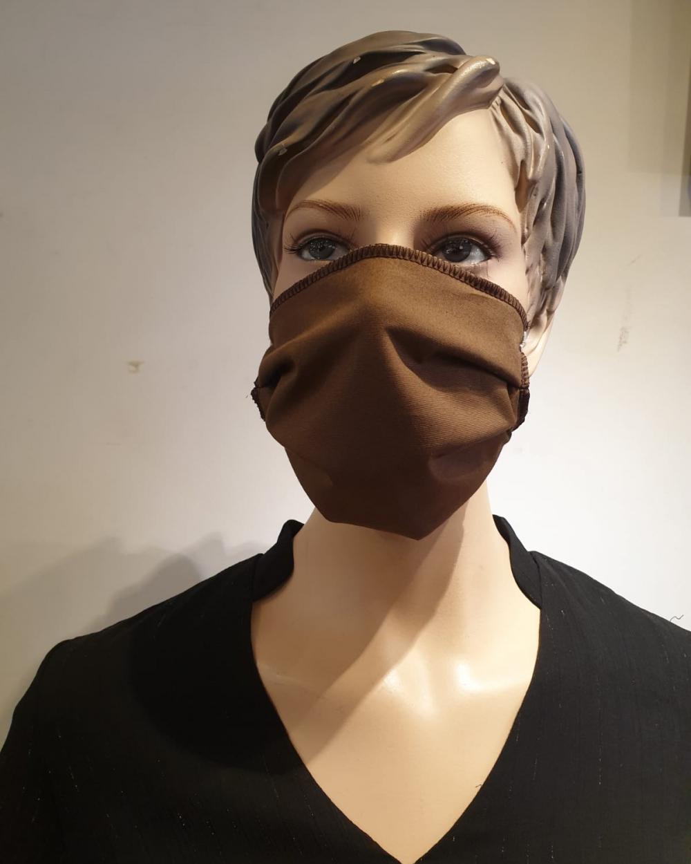 Masque marron - Covid19