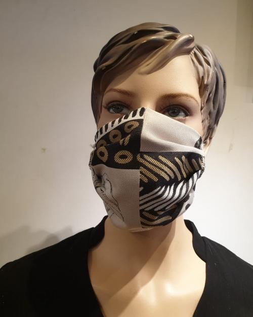 masque motif tribu - covid19