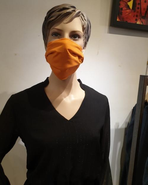 Masque orange - Covid19