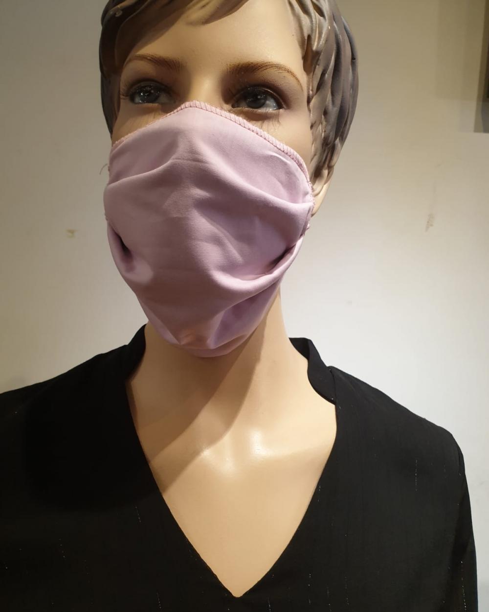 Masque rose- Covid19