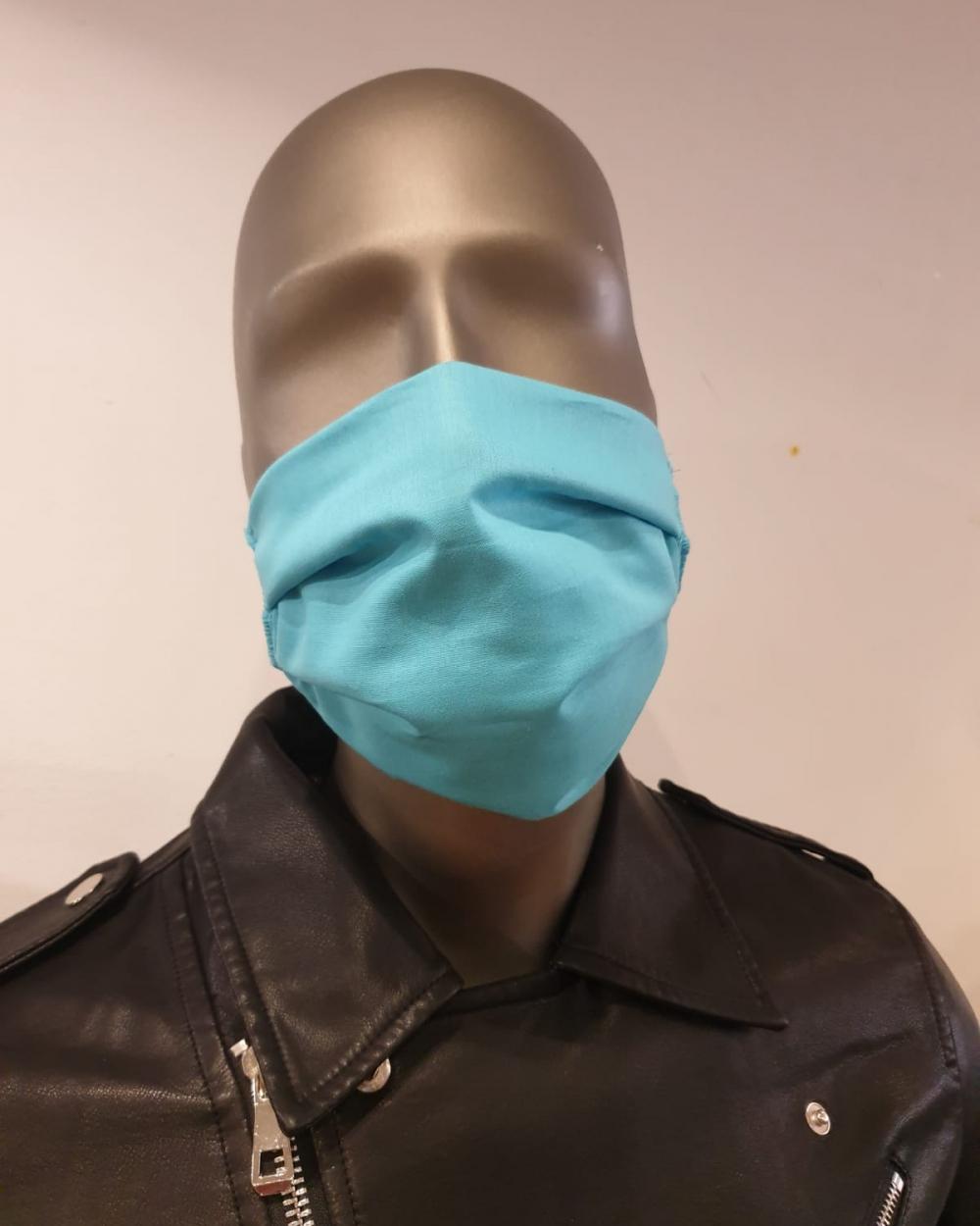 Masque bleu homme