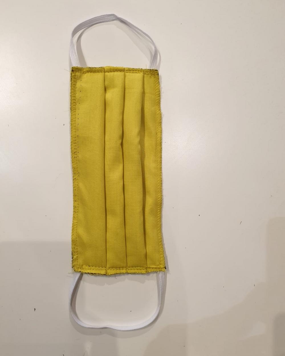 Masque jaune - Covid19