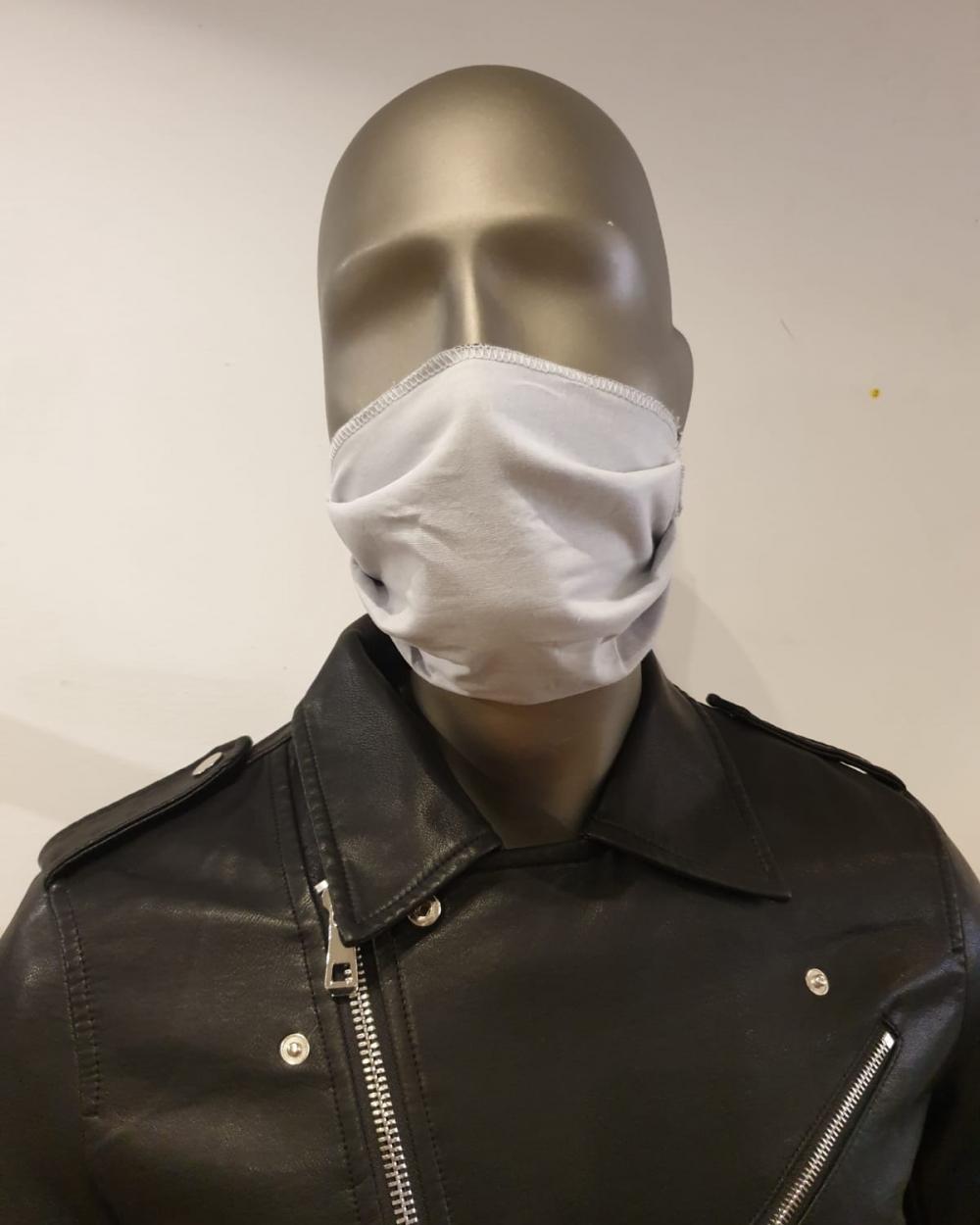 Masque gris - covid19