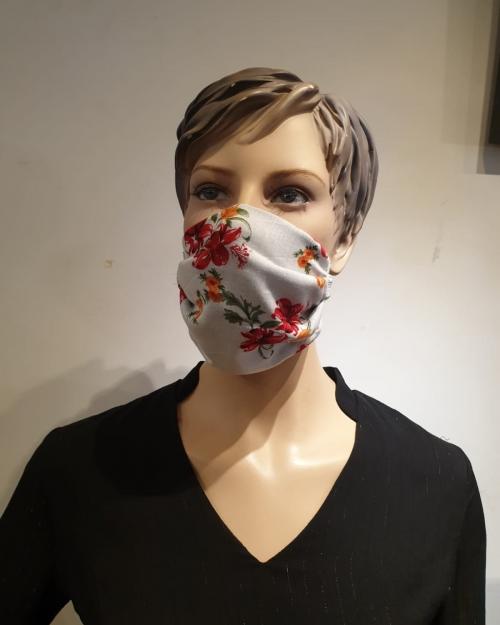 Masque Motifs fleur - Covid19