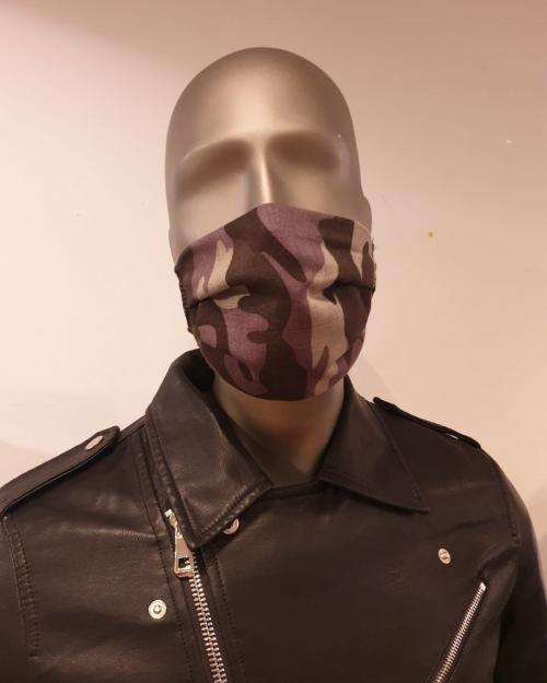 Masque Motifs armée - Covid19