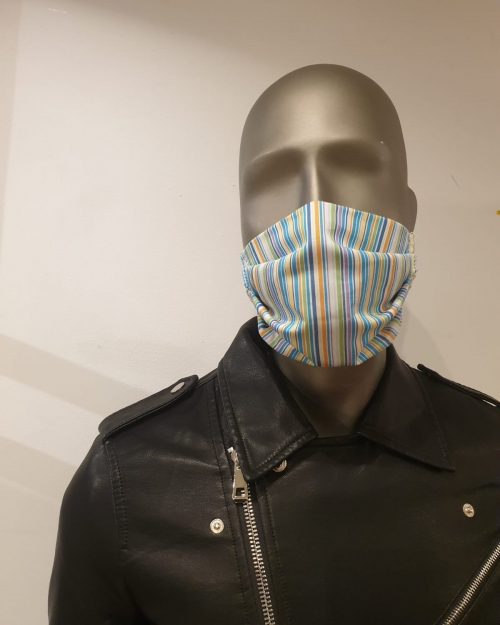 Masque multicolore